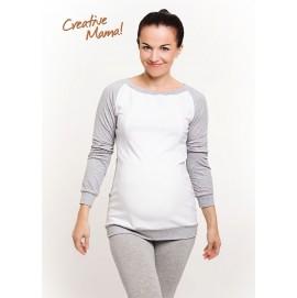 Реглан Mix (хлопок) для беременных и кормящих, Creative Mama