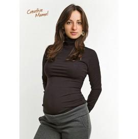Водолазка-поддевка Casual (хлопок) для беременных и кормящих, Creative Mama