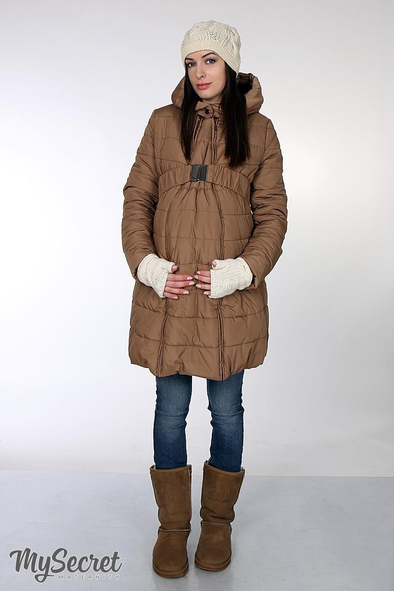 d75f7e159ee9 Зимнее пальто для беременных 2в1