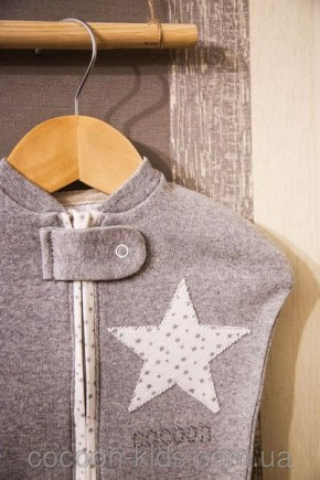 Евро-пеленка COCOON (серая звездочка) - комплект
