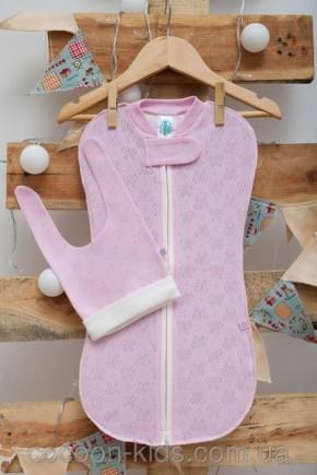 Евро-пеленка COCOON (розовая летняя) - комплект