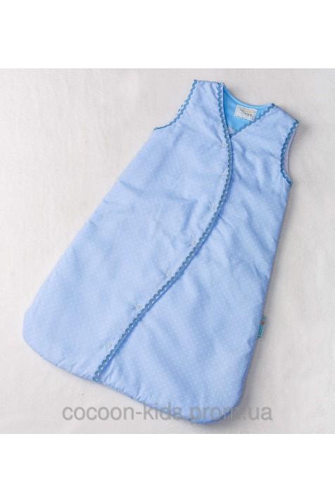 Спальный Евро-мешок COCOON (классический голубой)