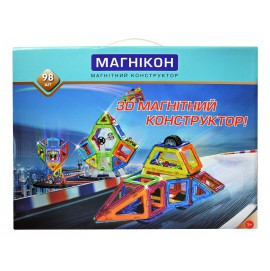 3D Магнитный конструктор Магникон MK-98