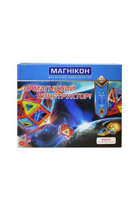 3D Магнитный конструктор Магникон MK-45