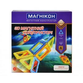 3D Магнитный конструктор Магникон MK-20