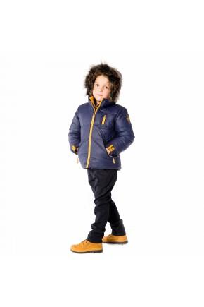 Зимняя куртка для мальчика Deux par deux, арт. P520/481