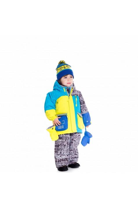 Зимний детский комплект Deux par deux арт. Q518/001
