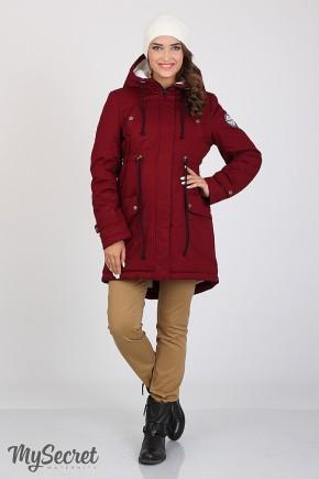 Зимняя куртка для беременных Юла Мама Inira арт. OW-36.042