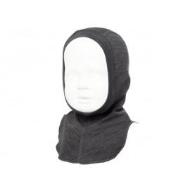 Термошапка-шлем из шерсти мериноса Norveg серая