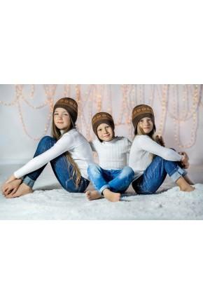Шапка шлем из шерсти мериноса СофийкаТМ