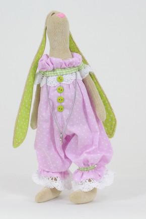 Интерьерная кукла Зайка Малышка с сердцем