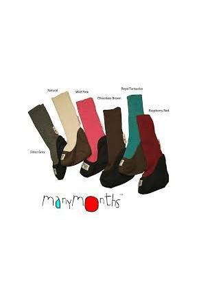 Высокие шерстяные ботиночки MaM ManyMonths из шерсти