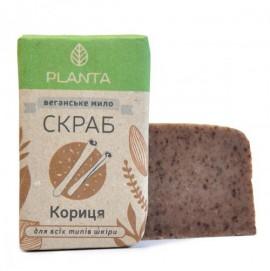 Мыло-скраб Planta Корица,100 гр