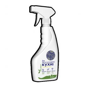 Бесфосфатное средство для мытья кухни De La Mark с ароматом лимона 500 мл