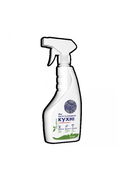 Бесфосфатное средство для мытья кухни De La Mark с ароматом вишни 500 мл