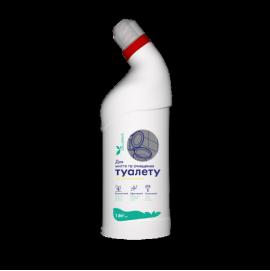 Cредство для мытья туалета De La Mark с ароматом лимона 1.0 л