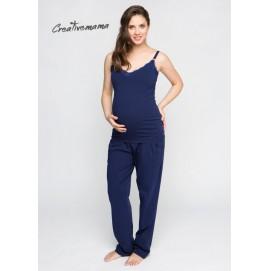 Пижама для беременных и кормления Creative Mama Femine