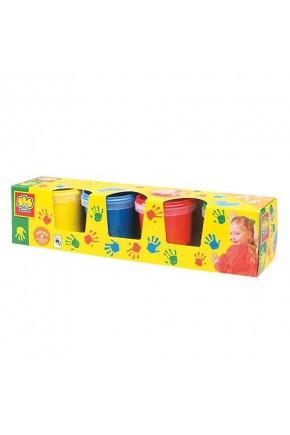Пальчиковые краски Ses Мои первые рисунки 4 цвета