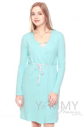 Халат и ночная рубашка для беременных и кормящих Yammy Mammy арт. 118.02.5