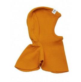 Шапка-шлем из шерсти мериноса в разных цветах MaM ManyMonths оранжевый