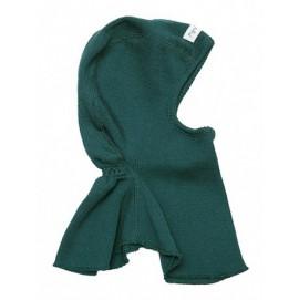 Шапка-шлем из шерсти мериноса в разных цветах MaM ManyMonths зеленый