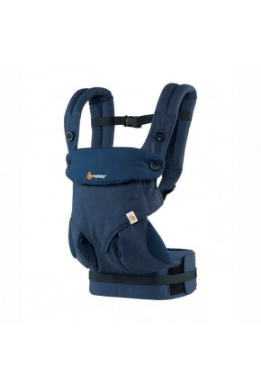 Эрго рюкзак Ergo baby 360 Midnight Blue Four Position