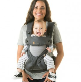 Эрго рюкзак Ergobaby Four position 360 Cool Air – Carbon Grey