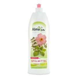 Концентрированная жидкость для мытья посуды с розой, 1л