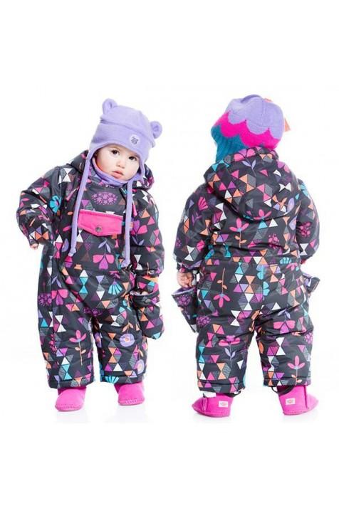 Зимний комбинезон для девочки Deux par Deux B703/006