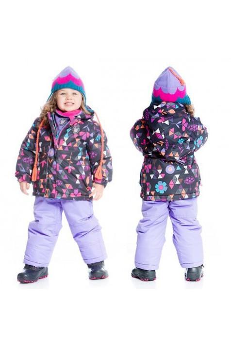 Зимний комплект для девочки Deux par Deux B503/006