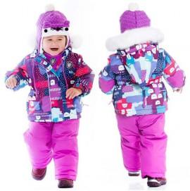 Зимний комплект для девочки Deux par Deux D503/004
