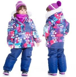 Зимний комплект для девочки Deux par Deux D803/598