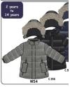 Зимняя куртка для мальчика Deux par Deux W54 черная