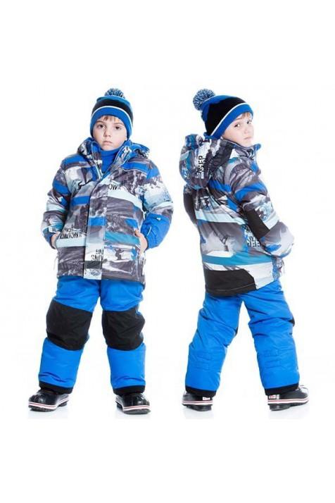 Зимний комплект для мальчика Deux par Deux K804/469