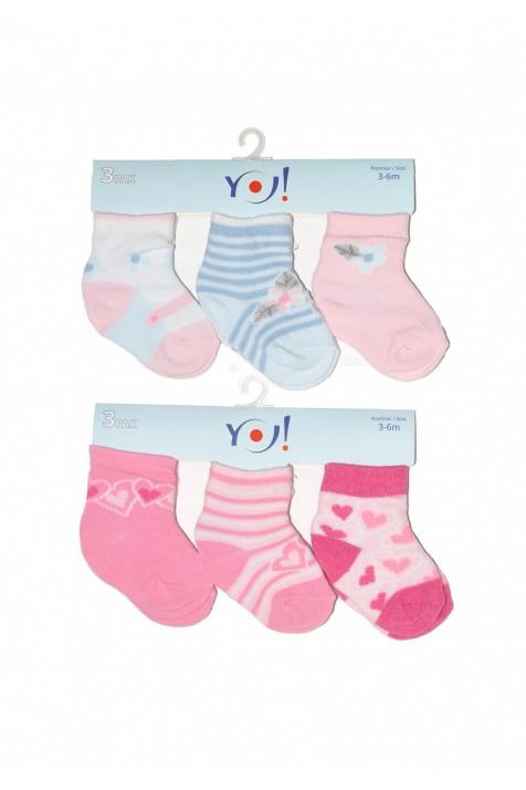 Носочки для новорожденной девочки Yo