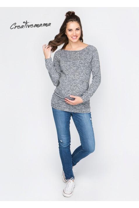Лонгслив для беременных и кормящих Creative Mama Uno