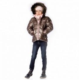 Зимняя куртка для девочки Deux par deux арт. P820/150