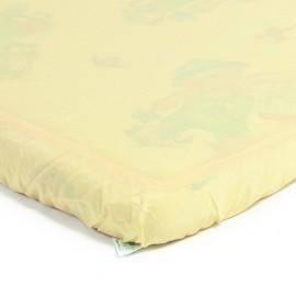 Детский непромокаемый наматрасник Эко Пупс Чехол Premium желтый