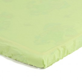 Детский непромокаемый наматрасник Эко Пупс Чехол Premium зеленый