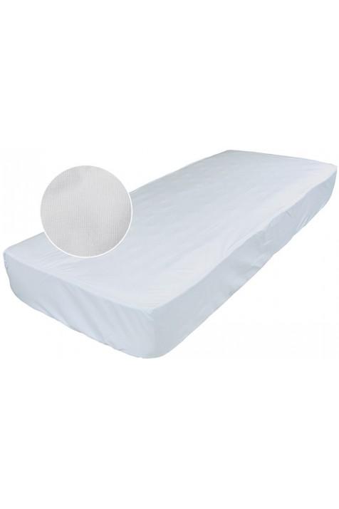 Большой непромокаемый наматрасник Эко Пупс Чехол Premium белый