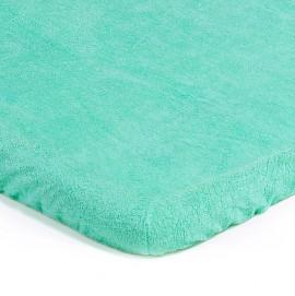 Детский непромокаемый наматрасник Эко Пупс Чехол Classic зеленый