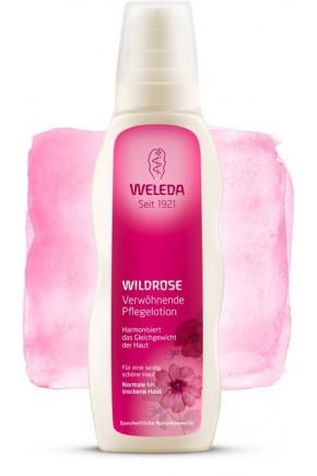 Розовое гармонизирующее молочко для тела