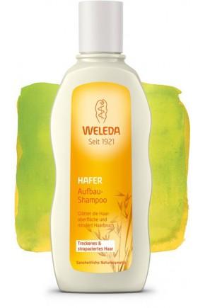 Шампунь-курс восстанавливающий для сухих волос с экстрактом овса Weleda 190 мл