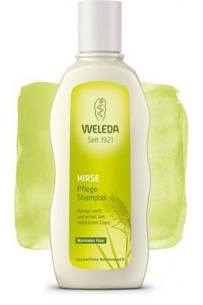Шампунь-уход для нормальных волос с экстрактом проса Weleda 190 мл