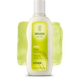 Шампунь-догляд для нормального волосся з екстрактом проса Weleda 190 мл
