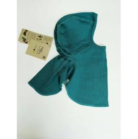 Шапка-шлем из шерсти мериноса в разных цветах MaM ManyMonths бирюзовый