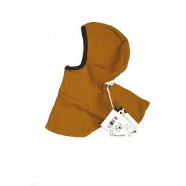 Шапка-шлем из шерсти мериноса в разных цветах MaM ManyMonths желтый
