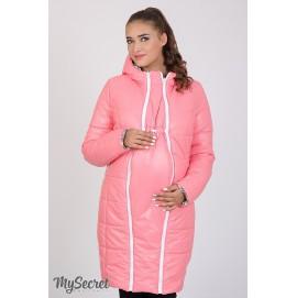 Куртка зимняя для беременных двухсторонняя Юла Мама Kristin print арт. OW-47.033