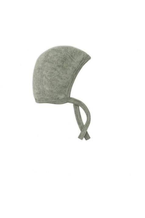 Детская шапочка Engel 100% мериносовый флис серая
