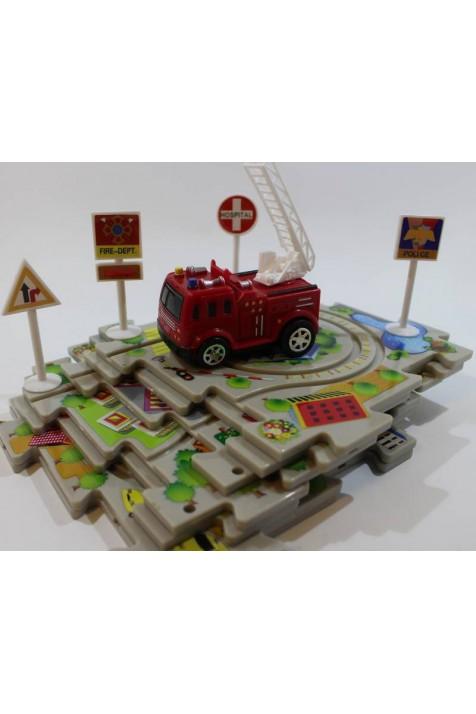 Управляемые пазлы Amewi Пожарная команда арт. 100571